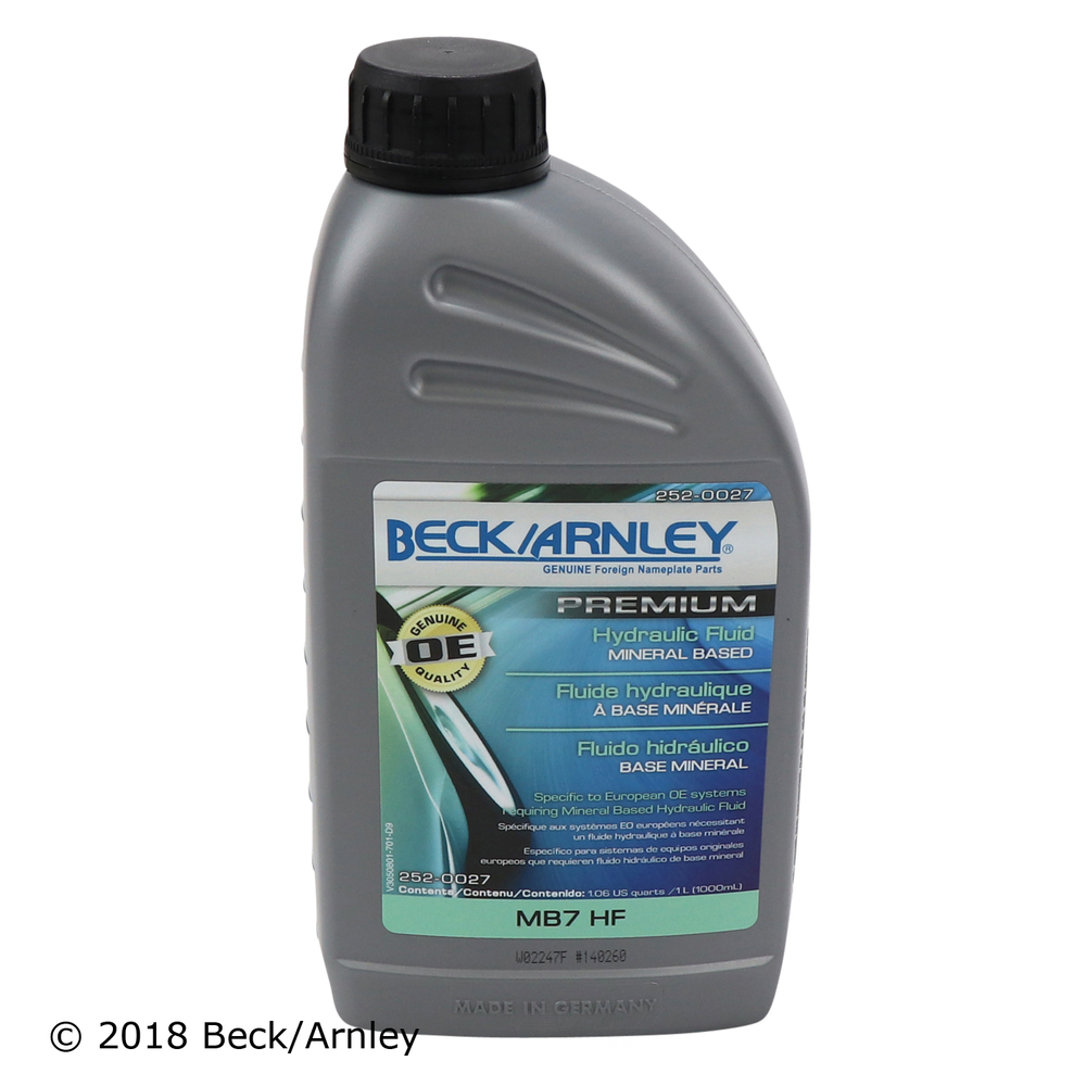 BECK/ARNLEY - Hydraulic System Fluid - BAR 252-0027