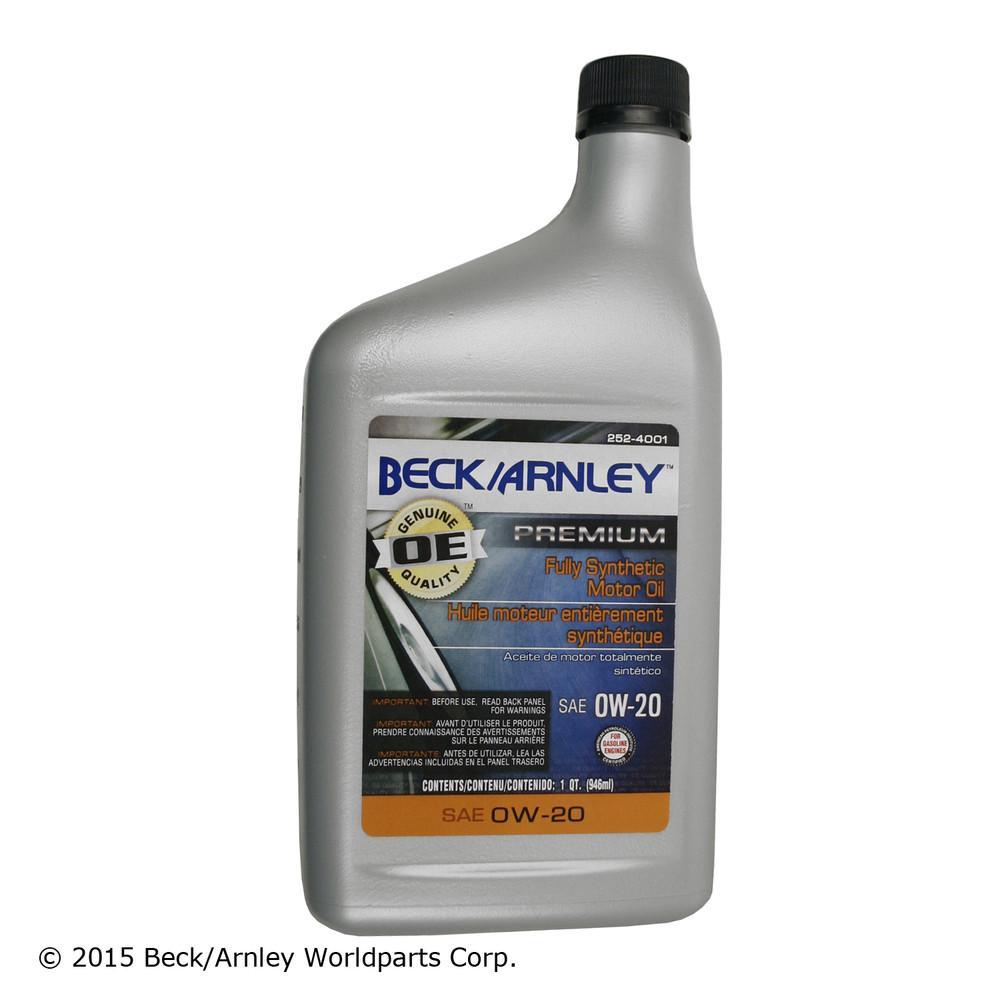 BECK/ARNLEY - Engine Oil - BAR 252-4001