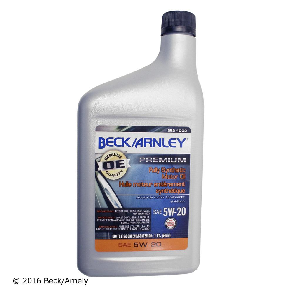 BECK/ARNLEY - Engine Oil - BAR 252-4002