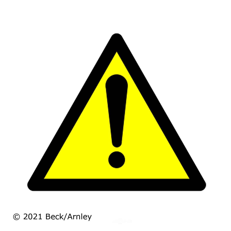 BECK/ARNLEY - Fuel Filter - BAR 043-0025