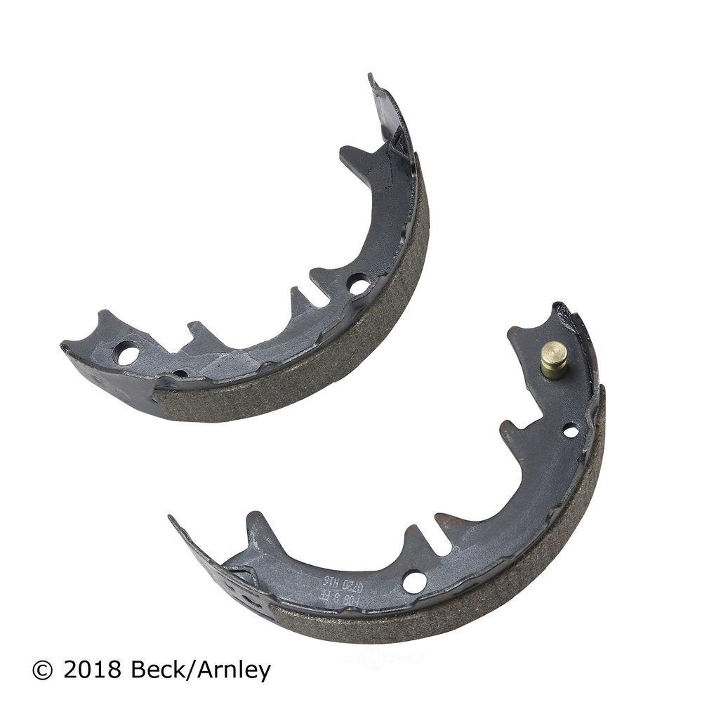 BECK/ARNLEY - Parking Brake Shoe (Rear) - BAR 081-3232
