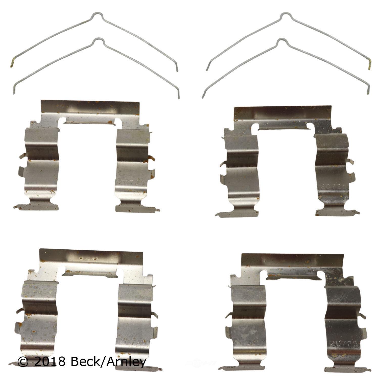 BECK/ARNLEY - Disc Brake Hardware Kit - BAR 084-1442