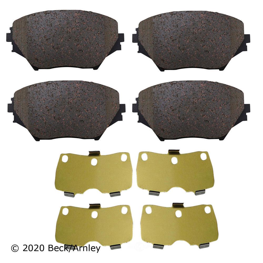 BECK/ARNLEY - Disc Brake Pad (Front) - BAR 089-1696