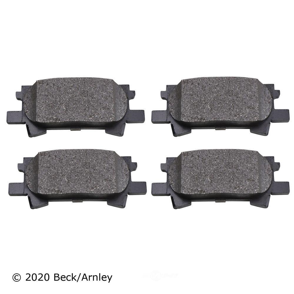 BECK/ARNLEY - Disc Brake Pad (Rear) - BAR 089-1741