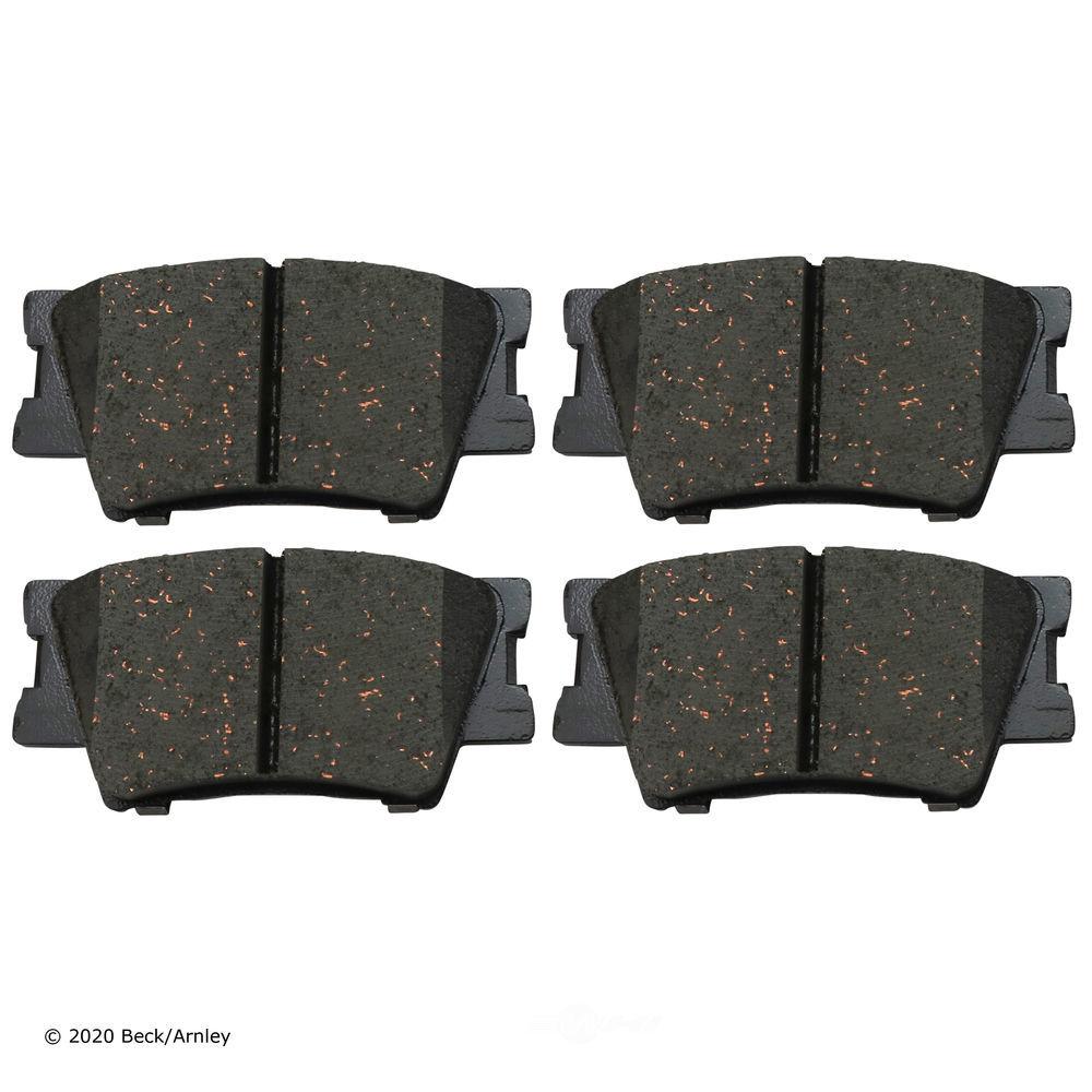 BECK/ARNLEY - Disc Brake Pad (Rear) - BAR 089-1756