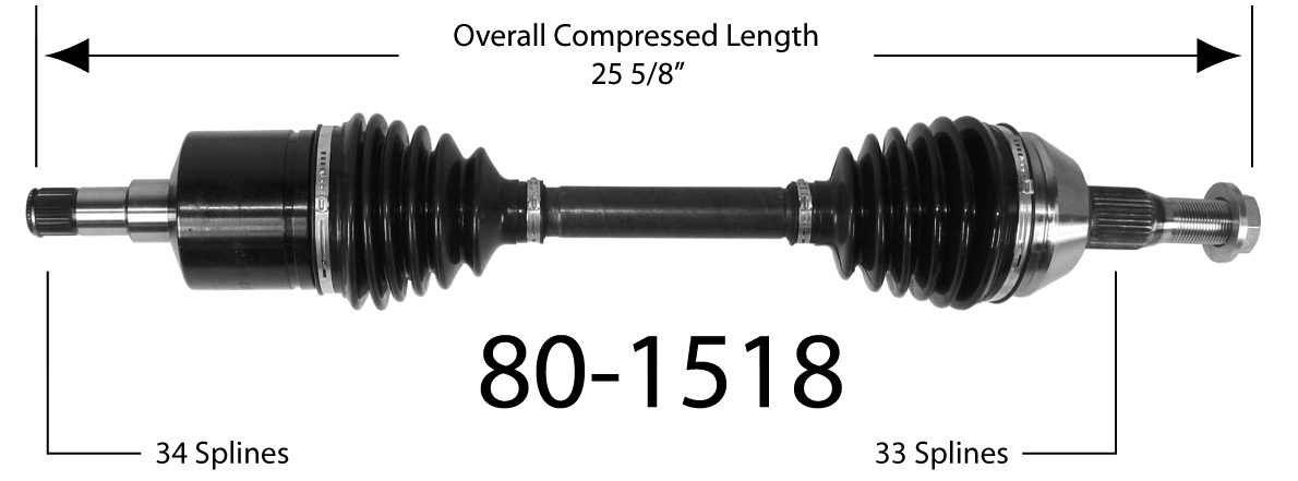 EMPIRE - Drive Shaft - BAY 80-1518