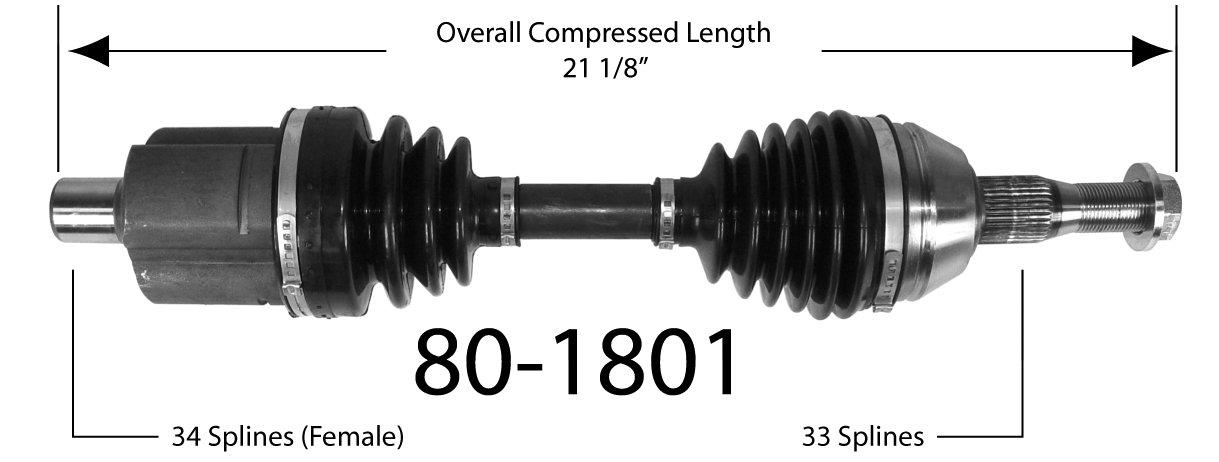 EMPI INC. - Drive Shaft - BAY 80-1801