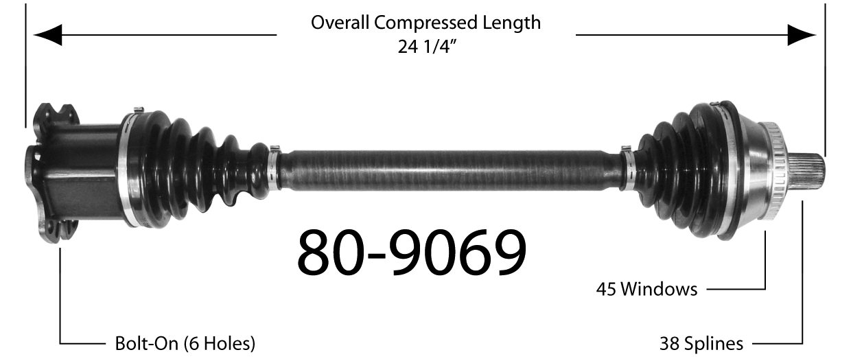 EMPI INC. - Drive Shaft - BAY 80-9069
