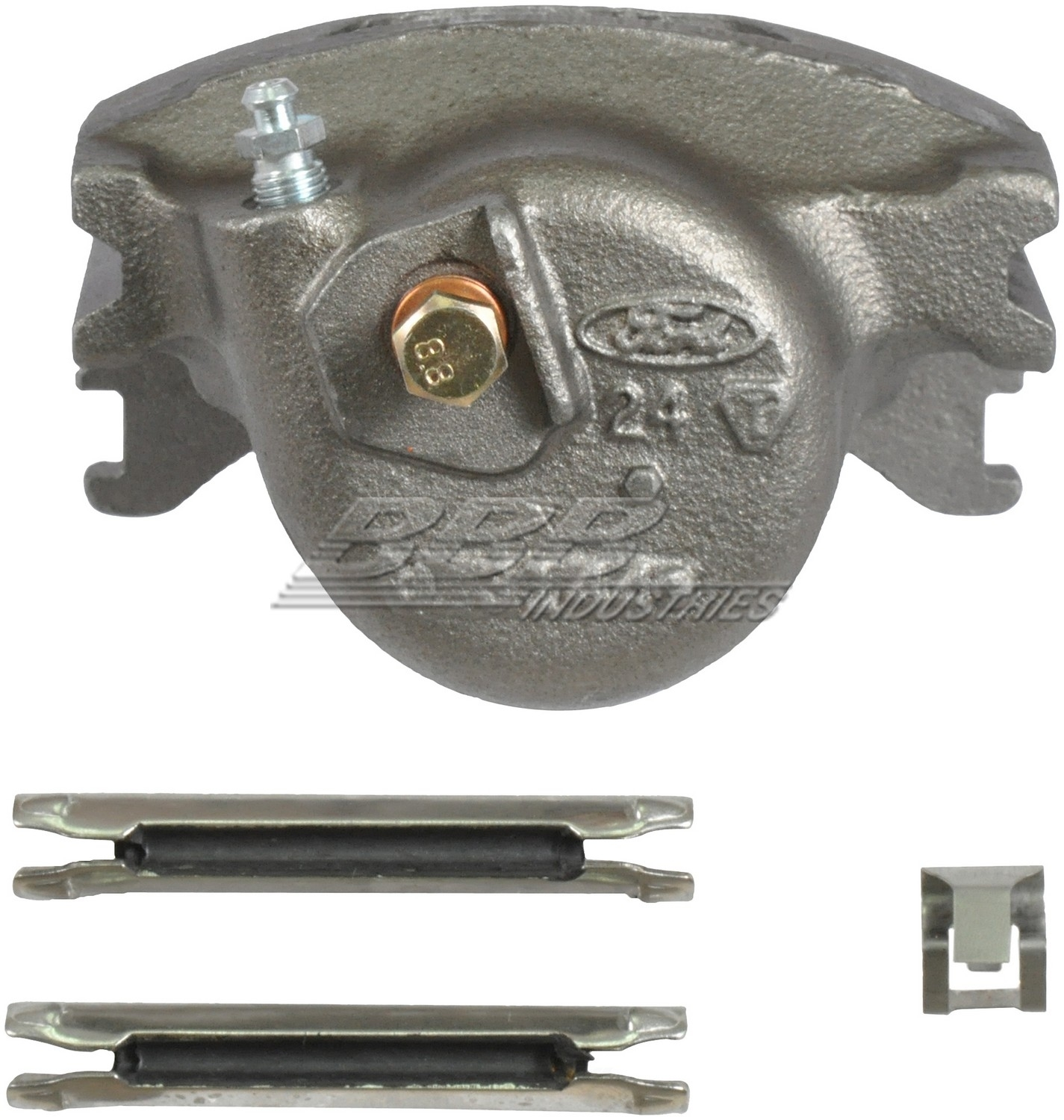 BBB INDUSTRIES - Reman Caliper w/ Installation Hardware - BBA 97-01132A