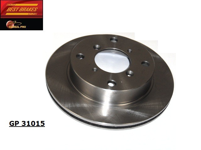 BEST BRAKES USA - Standard Brake Rotor - BBU GP31015
