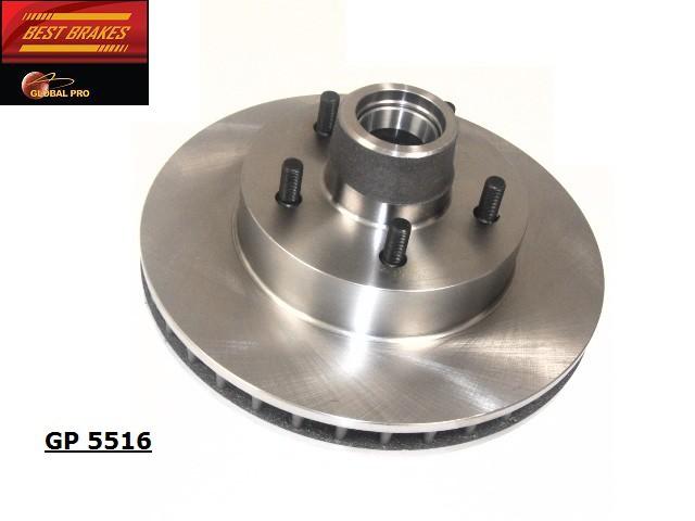BEST BRAKES USA - Standard Brake Rotor - BBU GP5516