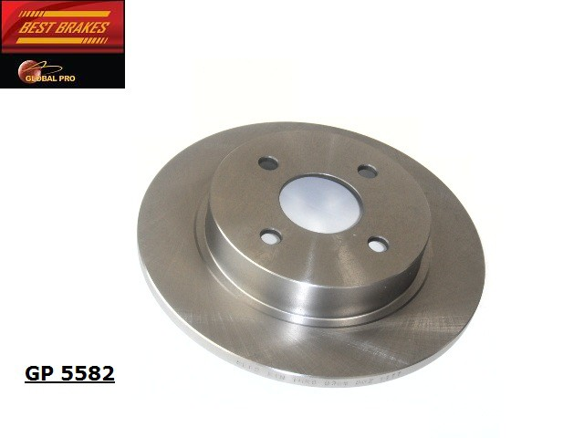 BEST BRAKES USA - Standard Brake Rotor - BBU GP5582