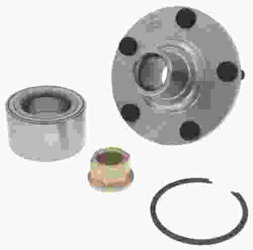 AUTO EXTRA/BEARING-SEALS-HUB ASSEMBLIES - Wheel Hub Repair Kit - AXJ 518516