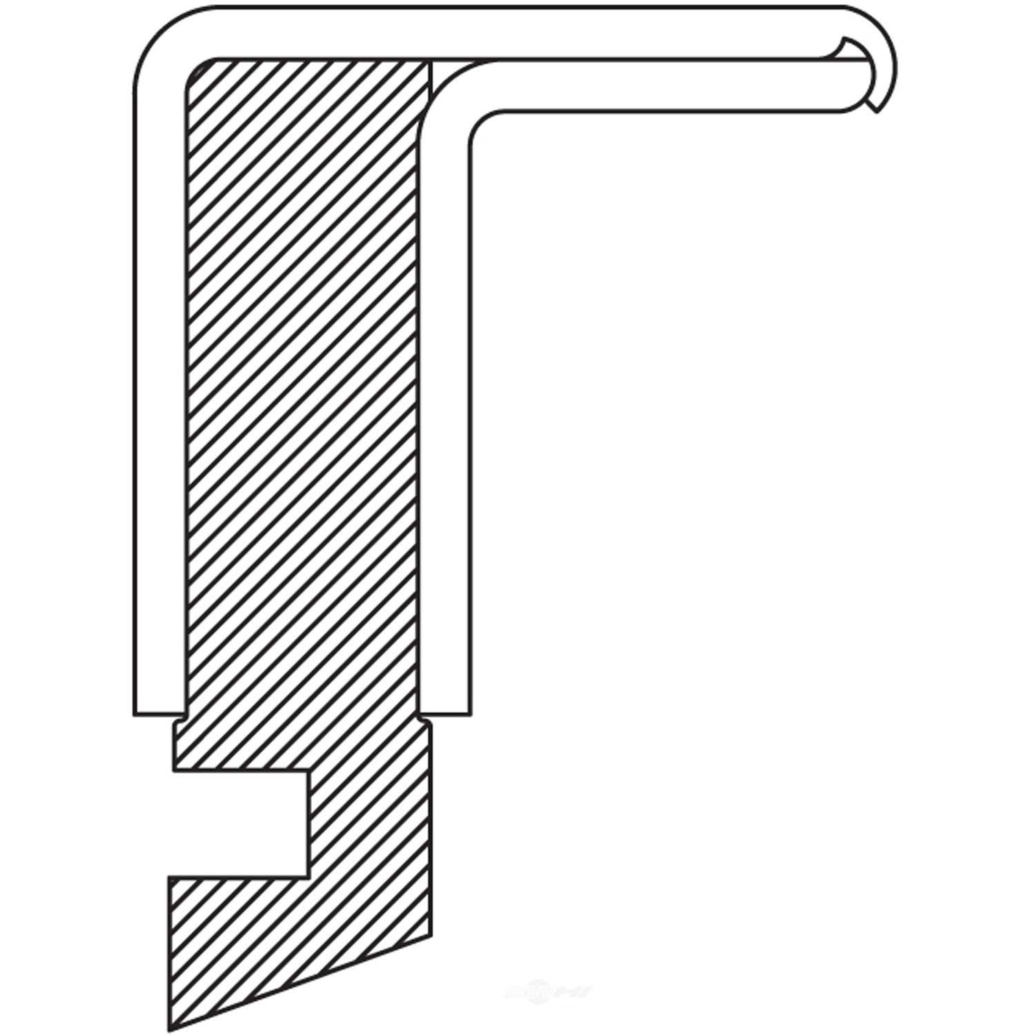 NATIONAL SEALS - Steering Knuckle Seal - NAT 204005
