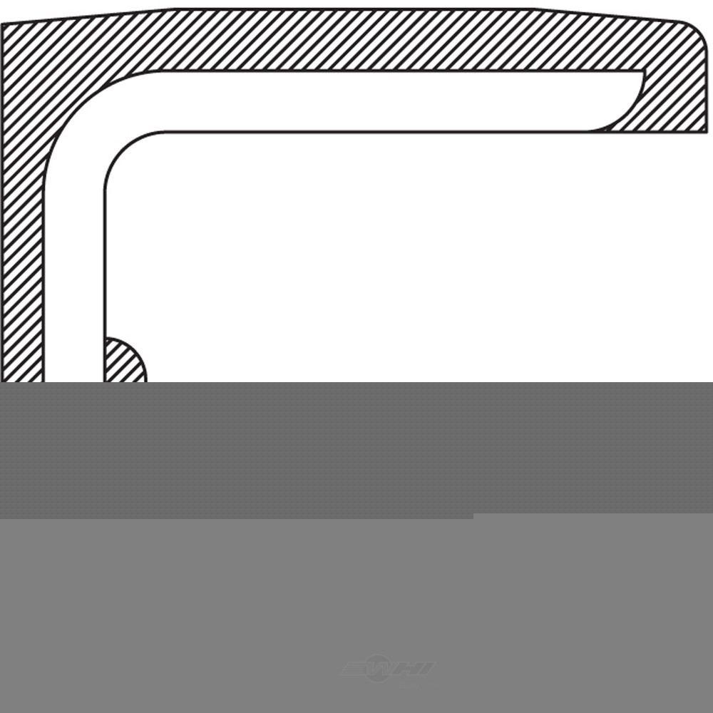 NATIONAL SEAL/BEARING - Power Steering Pump Shaft Seal - BCA 221730