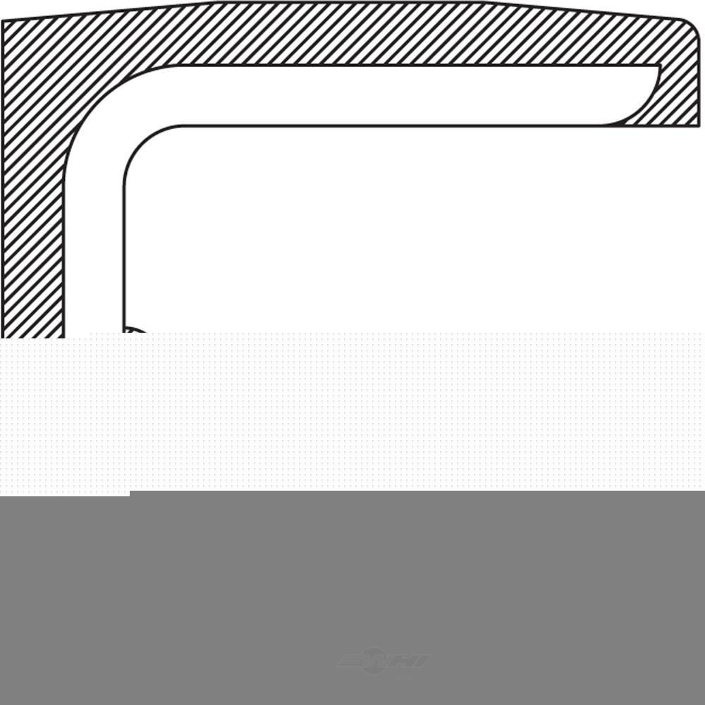 NATIONAL SEAL/BEARING - Manual Transmission Input Shaft Seal - BCA 222238