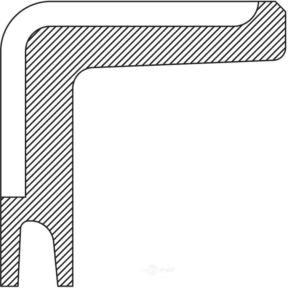 NATIONAL SEAL/BEARING - Transfer Case Shift Shaft Seal - BCA 2287