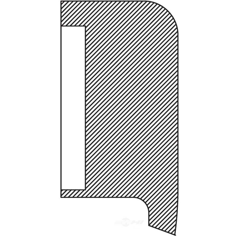 NATIONAL SEAL/BEARING - Steering Gear Pitman Shaft Seal - BCA 240731