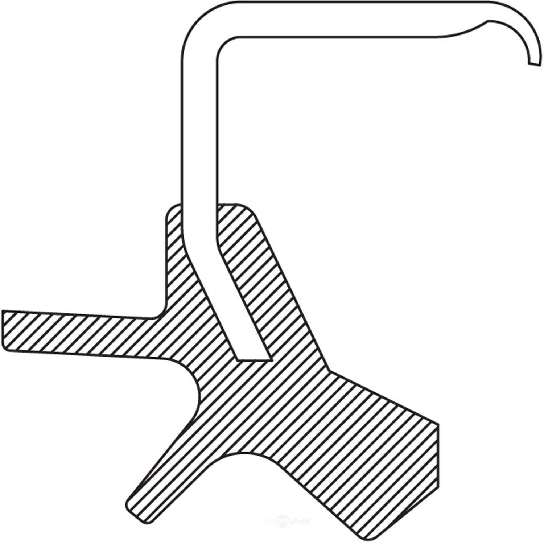 AUTO EXTRA/BEARING-SEALS-HUB ASSEMBLIES - Wheel Seal (Front Inner) - AXJ 5121