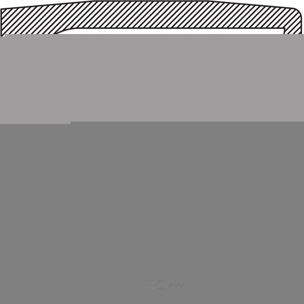 NATIONAL BEARING - Steering Knuckle Seal - BCB 710255