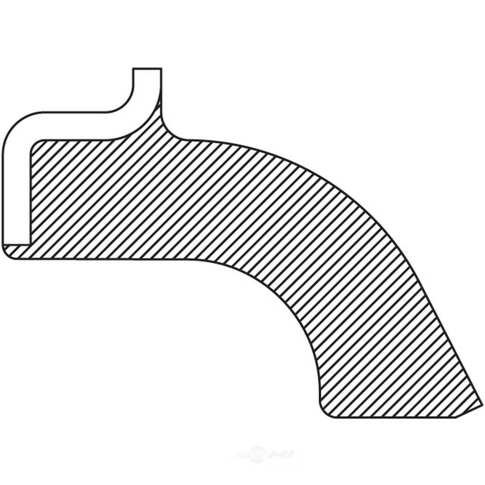 NATIONAL SEAL/BEARING - Steering Knuckle Seal - BCA 710385