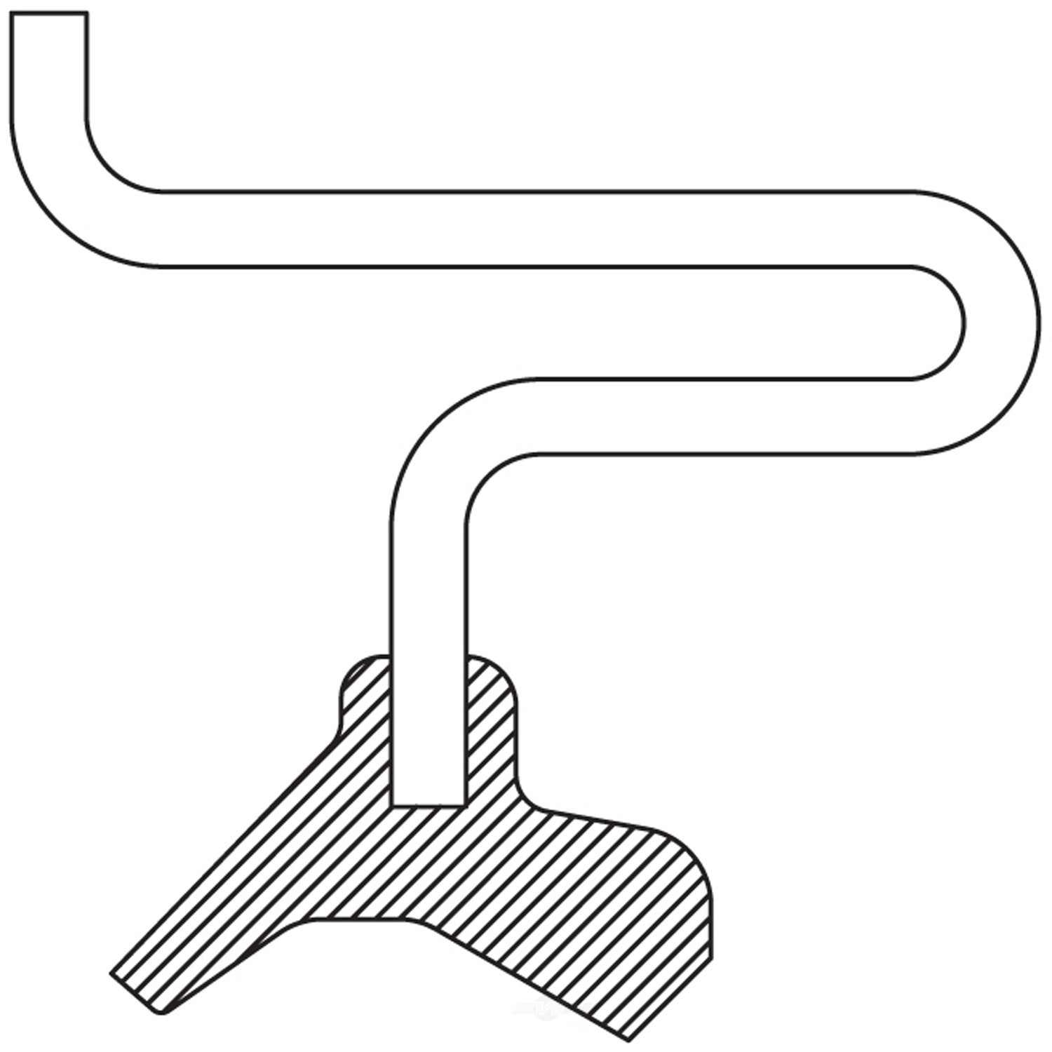 NATIONAL SEALS - Axle Spindle Seal - NAT 710455