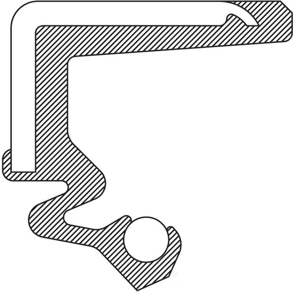 NATIONAL SEAL/BEARING - Axle Intermediate Shaft Seal - BCA 710479