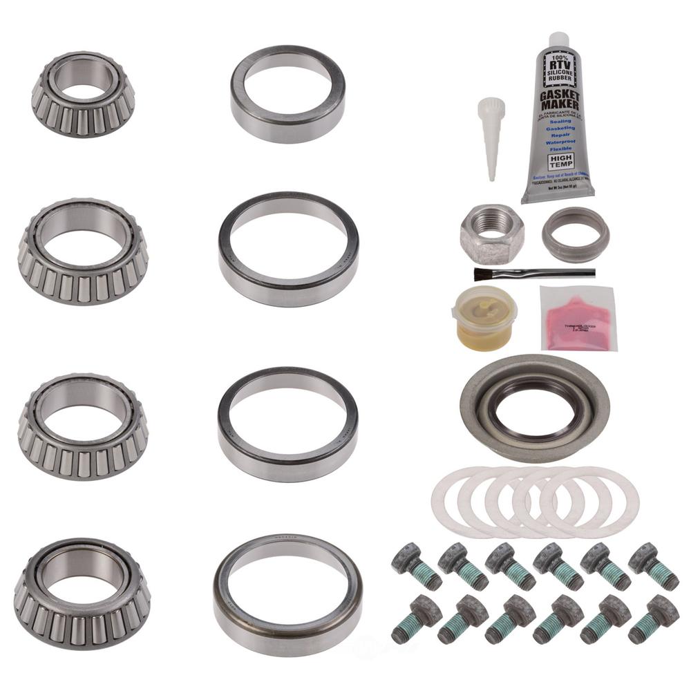 NATIONAL SEAL/BEARING - Axle Differential Bearing and Seal Kit - BCA RA-304MK