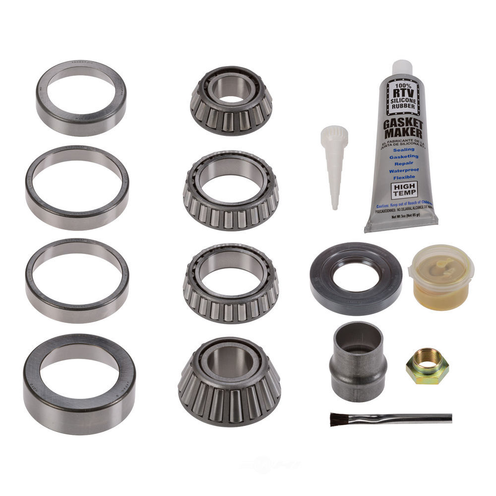 NATIONAL SEAL/BEARING - Axle Differential Bearing and Seal Kit (Rear) - BCA RA-352