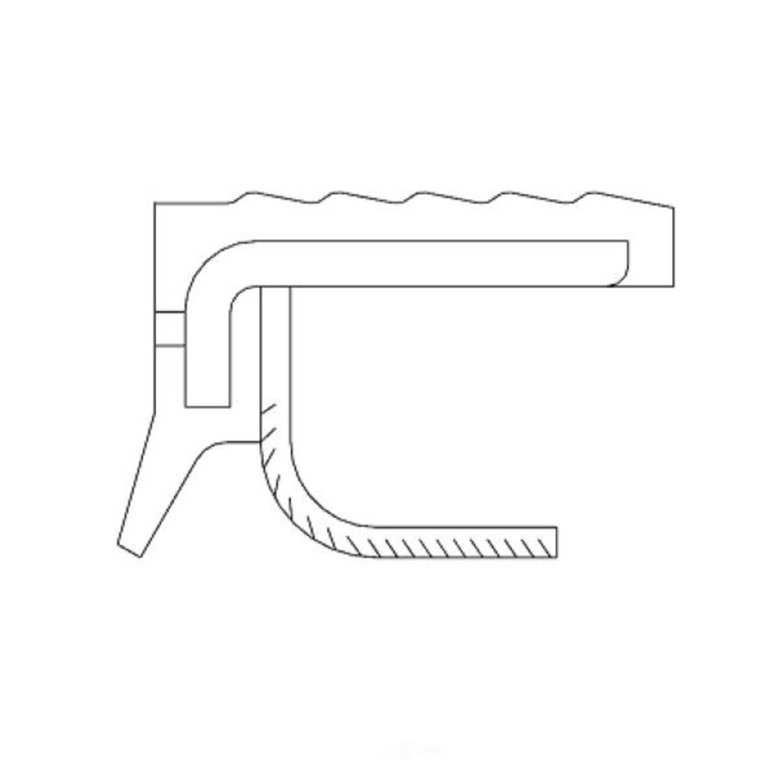 NATIONAL SEAL/BEARING - Engine Timing Cover Seal - BCA 100470
