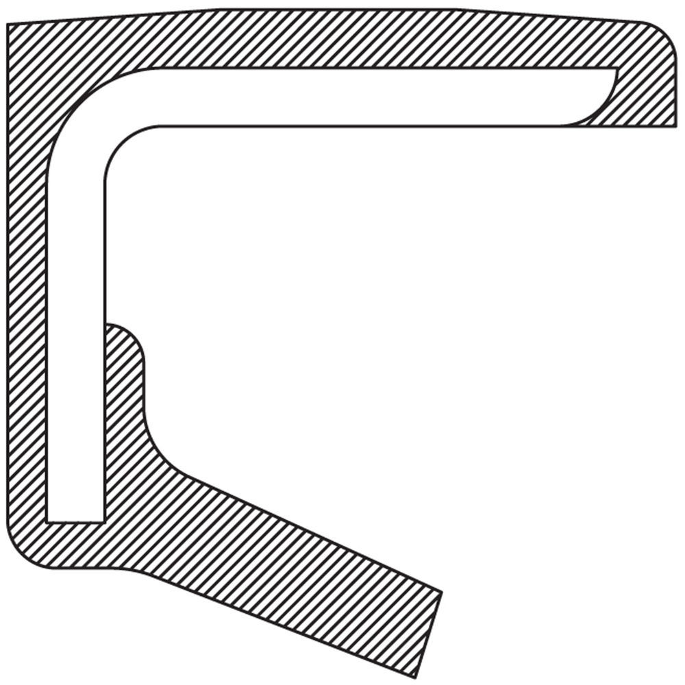 NATIONAL SEAL/BEARING - Axle Spindle Seal (Front Inner) - BCA 710044