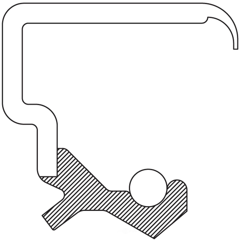 NATIONAL SEAL/BEARING - Transfer Case Input Shaft Seal - BCA 710684