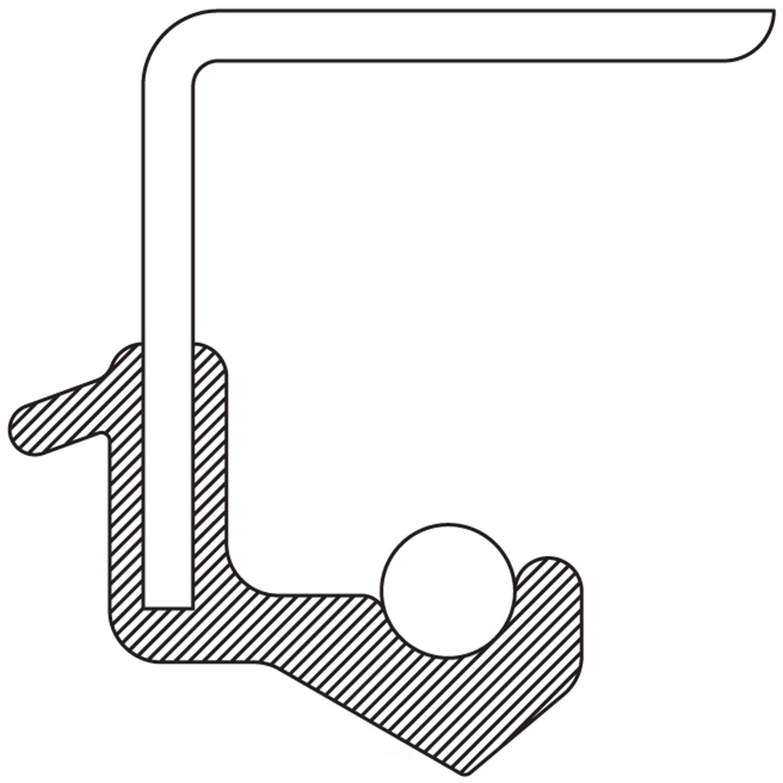 NATIONAL SEAL/BEARING - Manual Trans Input Shaft Seal - BCA 9487