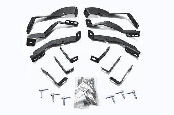 BIG COUNTRY TRUCK ACCESSORIES - Step Nerf Bar Mount Kit - BCT 393765
