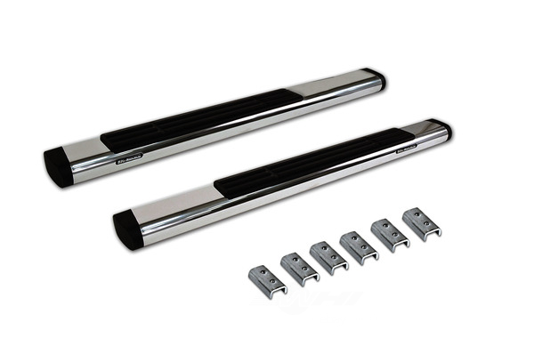 BIG COUNTRY TRUCK ACCESSORIES - 6^ Widesider Platinum Bars - 80^ Long - Polished Stainless Steel - Bars - BCT 396526