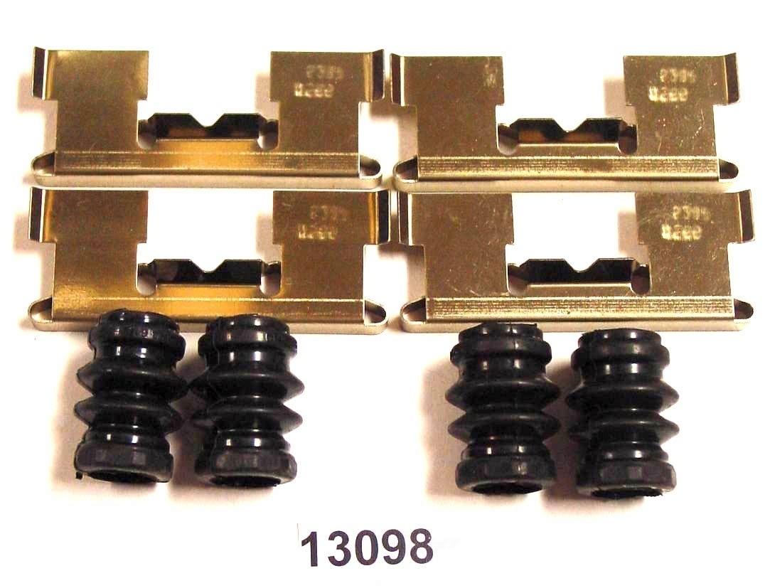 BETTER BRAKE PARTS - Disc Brake Hardware Kit (Front) - BEB 13098