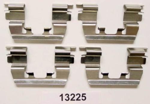 BETTER BRAKE PARTS - Disc Brake Hardware Kit (Front) - BEB 13225
