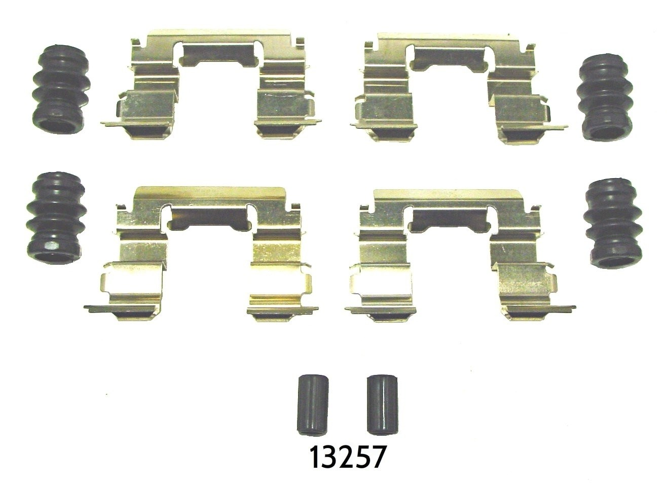 BETTER BRAKE PARTS - Disc Brake Hardware Kit (Front) - BEB 13257
