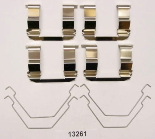 BETTER BRAKE PARTS - Disc Brake Hardware Kit (Front) - BEB 13261