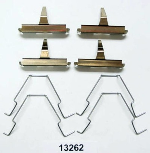 BETTER BRAKE PARTS - Disc Brake Hardware Kit (Rear) - BEB 13262