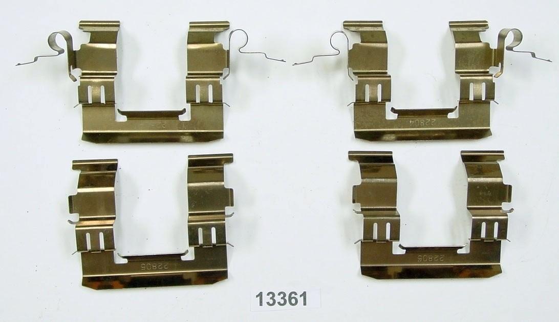 BETTER BRAKE PARTS - Disc Brake Hardware Kit (Front) - BEB 13361