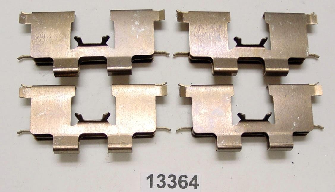 BETTER BRAKE PARTS - Disc Brake Hardware Kit (Rear) - BEB 13364