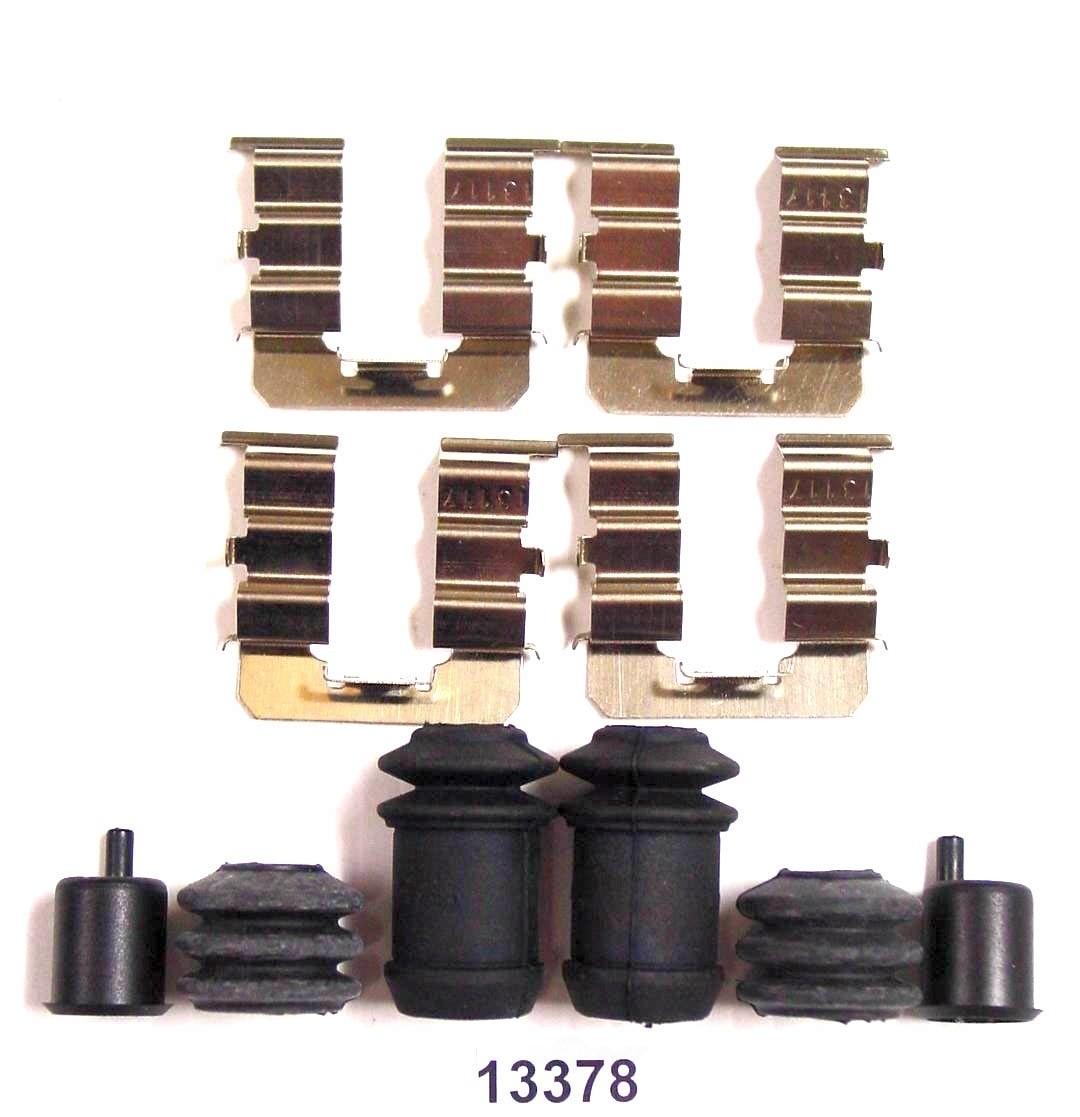 BETTER BRAKE PARTS - Disc Brake Hardware Kit (Rear) - BEB 13378