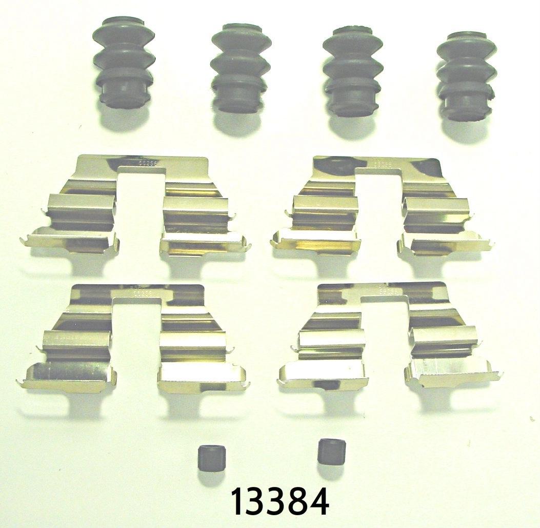 BETTER BRAKE PARTS - Disc Brake Hardware Kit - BEB 13384