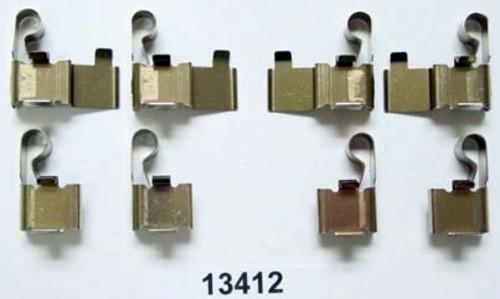 BETTER BRAKE PARTS - Disc Brake Hardware Kit (Rear) - BEB 13412