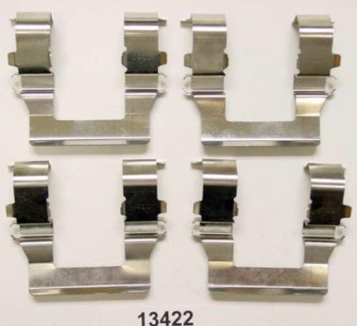 BETTER BRAKE PARTS - Disc Brake Hardware Kit (Front) - BEB 13422