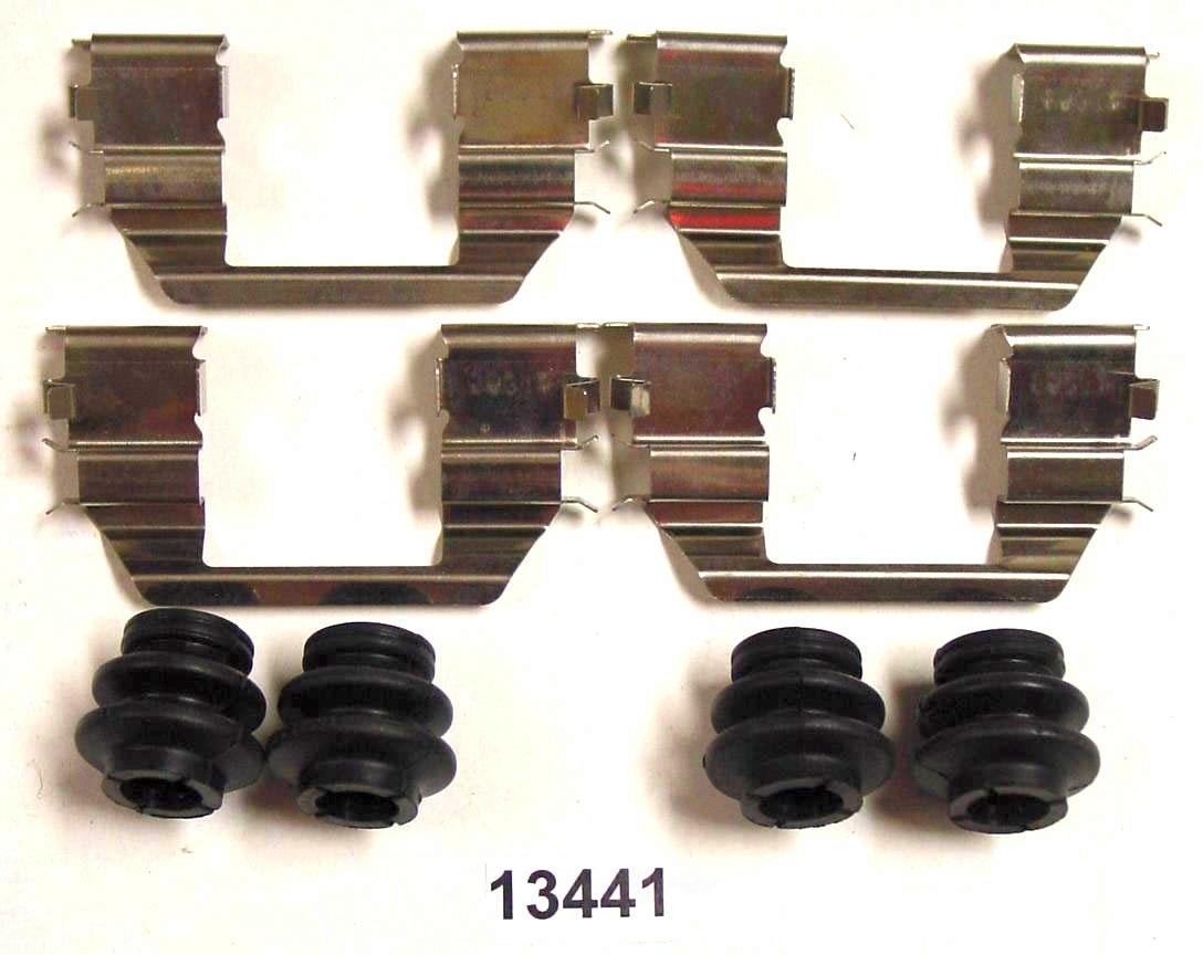 BETTER BRAKE PARTS - Disc Brake Hardware Kit - BEB 13441