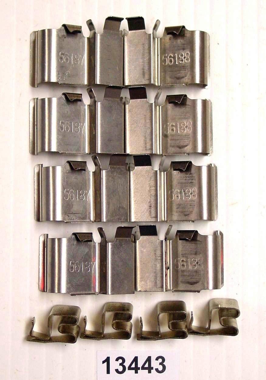 BETTER BRAKE PARTS - Disc Brake Hardware Kit (Front) - BEB 13443