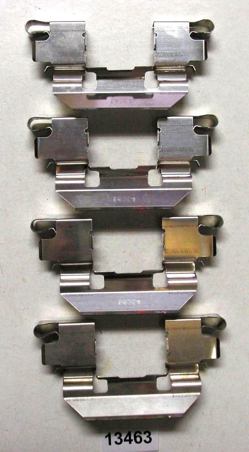 BETTER BRAKE PARTS - Disc Brake Hardware Kit - BEB 13463