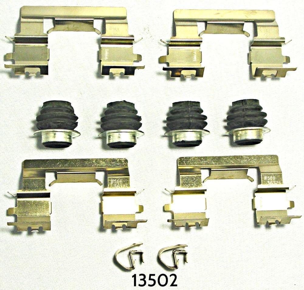 BETTER BRAKE PARTS - Disc Brake Hardware Kit (Front) - BEB 13502